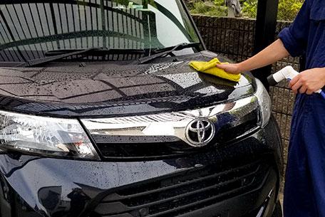 2,洗車・細部の洗浄、鉄粉取り
